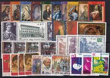 VATICANO FRANCOBOLLI NUOVI GIOVANNI PAOLO II ANNATA 2002 VEDI FOTO REGALO MNH**