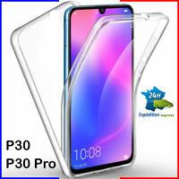 Coque tel housse étui intégrale TPU 360 Crystal HUAWEI P30/P30 pro