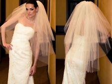 Livraison SUIVI Voile de mariée BLANC 3 COUCHES AVEC PEIGNE Accessoires Mariage
