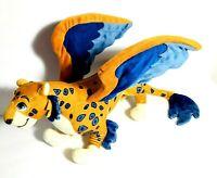 Disney Store Elena Of Avalor Skylar Jaquin Jaguar/Macaw Plush Toy Stuffed Animal