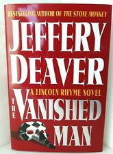 1st Edit VANISHED MAN Jeffry Deaver AUTHOR SIGNED Lincoln Rhyme PRISTINE COND