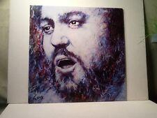 """Luciano Pavarotti """"Verismo Arias"""" Record Album. LDR 10020. 1980."""