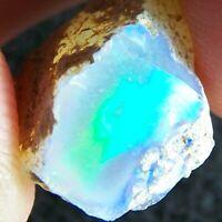 Ethiopian Opal Welo Rough 10.05 CTs FIRE BRIGHT 5/5 AAA+ CUT Grade USA DEALER