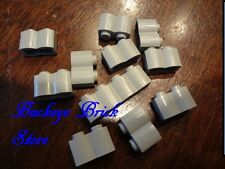 LEGO Light GRAY LOG BRICKS 1 x 2 With 1, 1 X 4, 6093 6083 1376 7119