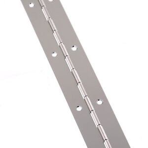 Continuous Hinge Nickel-Plated / Electro Brass 32 x 1000mm Piano Hinge
