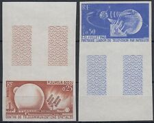 Frankreich France 1962 ** Mi.1413/14 Color proof ESSAY Weltraum Space Espace