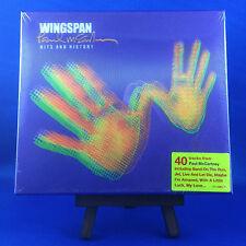 PAUL McCARTNEY: Wingspan (ULTRA RARE UK 2001 IMPORT 1ST PRESSING 3D COVER)