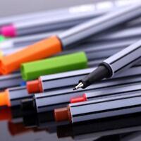 Fineliner Pens Set Superfine Marker Pen Art Color Marker Colored Sketch Drawing