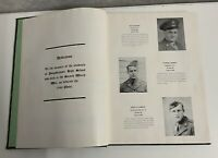 Yearbook Phois 1946 Poughkeepsie High School New York WWII Dedication Memorial