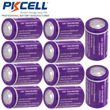 ER14250 3.6V 1200mAh 1/2AA Li-SOCl2 Batteries for PLC Gas Meter 10pcs