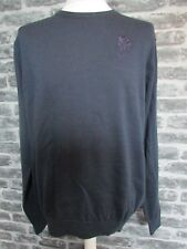 ENGLAND RUGBY RFU MENS CREW NECK NAVY COTTON SWEATER  S M L XL XXL  RRP £36