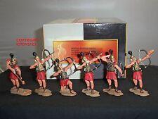 Conte SPQR026 Roman Empire Archers Aerial Assault Metal Toy Soldier Figure Set