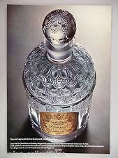 Guerlain Veritable Eau de Cologne Imperiale PRINT AD - 1966