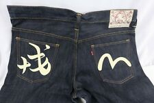 Rare Evisu Jeans Lot 2017 Jeans W36 L35 36x35 Handpainted at Evisu OSAKA