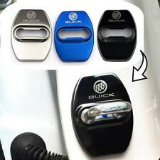 4pcs/set Car Stainless steel Door Lock Cover Buckle Cap trim Fit For Buick