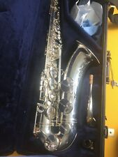 Silver plated Yamaha YTS  82Z ii  Custom Z Tenor Saxophone V1 neck