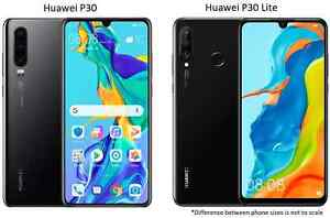 Huawei P30 or P30 Lite (64-256GB) AT&T Telus OR GSM Unlocked Android Smartphone