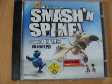 CD ROM Smash'n Spike - 3 coole Fungames für den PC !