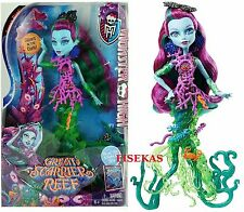 Monster High Great Scarrier Reef Down Under Posea Reef Doll 2015 DHB48 NEW