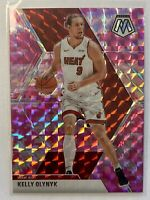2019/20 Panini Prizm Mosaic Pink Camo Refractor Kelly Olynyk