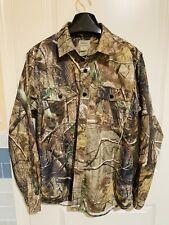 LL Bean Realtree Button Down Shirt Hunting Camo