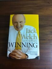 Winning by Jack Welch , Hardcover
