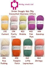 Sirdar Snuggly 4 Ply 50g - Discounted Clearance Offer