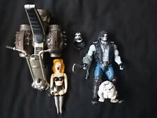 DC Multiverse BAF LOBO with Dawg and Bike!