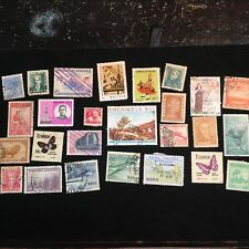 Central and South American Postage Stamps, Modern, Used, Over 25 Pieces