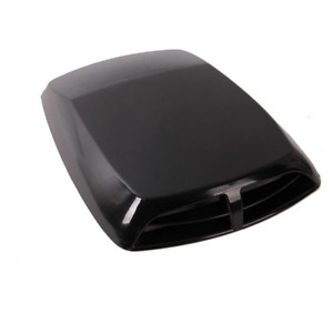 Air Flow Intake Hood Scoop Cover Decor Sticker For Car Bonnet Roof Body Black