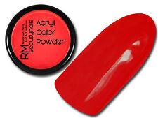Premium Acryl Farb Puder Acrylpulver Rot 5 gr #00724-33