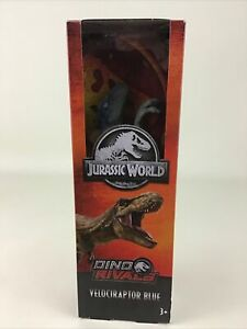 Jurassic World Dino Rivals Fallen Kingdom Velociraptor Blue Dinosaur Figure 2018