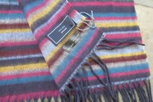 John Lewis Multi Stripe Super Soft Fine Knit Scarf