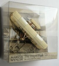 NEW THE WRIGHT BROTHERS 1903 WRIGHT FLYER FIRST AEROPLANE DIE CAST MODEL