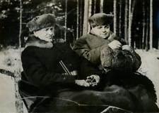 Chasse présidentielle en Pologne, M. Moscicki et M. Noël, ambassadeur de France