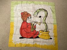 "Vintage snake charmer silk - 34"""
