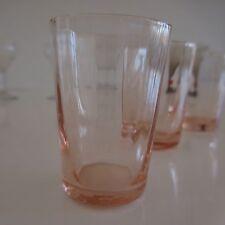 12 verres à liqueur art-déco art nouveau design XXe