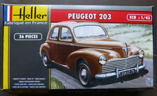 Heller 80160 1:43rd scale Peugeot 203 1948 too 1960 French Classic