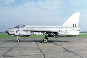 RAF English Electric Lightning F.1 XG329 at RAF Swinderby (1986) Photograph