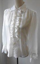 Ralph Lauren Silk Collared Tops & Shirts for Women