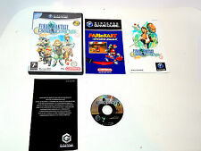 Final Fantasy Crystal Chronicles complete box with manual Gamecube nintendo game