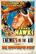 The Mysterious Pilot - Cliffhanger Serial Movie DVD Frank Hawks Dorothy Sebastia