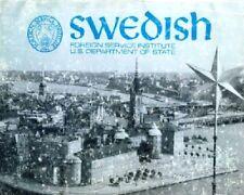 FSI SWEDISH BASIC COURSE DISK-MP3+PDF BOOKS+BONUS