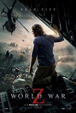 WORLD WAR Z Advance Style B DOUBLE SIDED ORIGINAL MOVIE film POSTER Brad Pitt