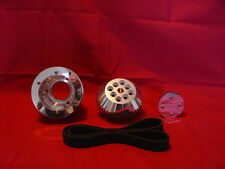 BBC Long Water Pump Billet Aluminum 8mm HTB belt system