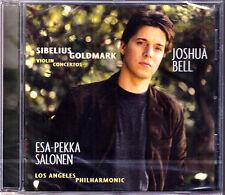 Joshua BELL: SIBELIUS & GOLDMARK Violin Concerto E.P. SALONEN CD Violinkonzerte