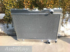 3 Rows Aluminum Radiator for Chevy Impala 59-63 // BelAir / Biscayne 60-65 Auto