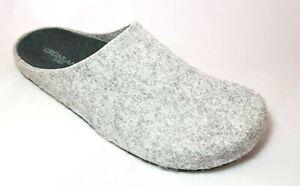 Grunland ciabatte pantofole uomo EURO CB2209 grigio-pino feltro soft verde