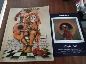 Bonhams Chelsea High Art Artwork Posters 1997 Catalogue