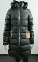 NWT Womens The North Face TNF Metropolis III Parka Long Down Warm Jacket Black